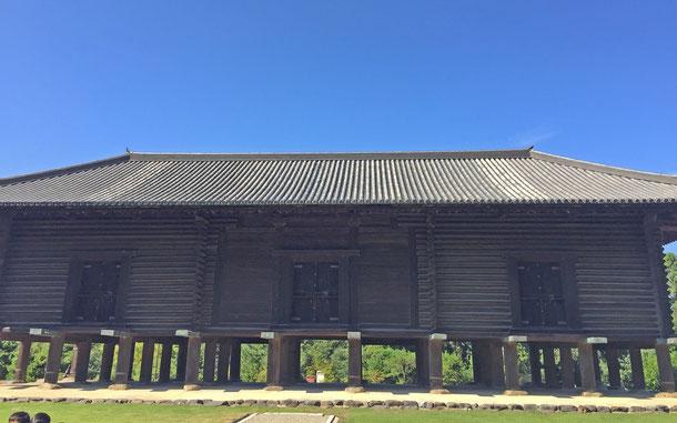 日本の世界遺産「古都奈良の文化財」構成資産のひとつ、正倉院