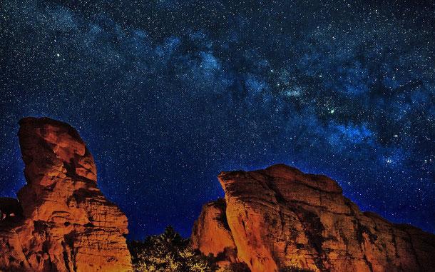 アメリカの世界遺産「グランドキャニオン国立公園」と天の川