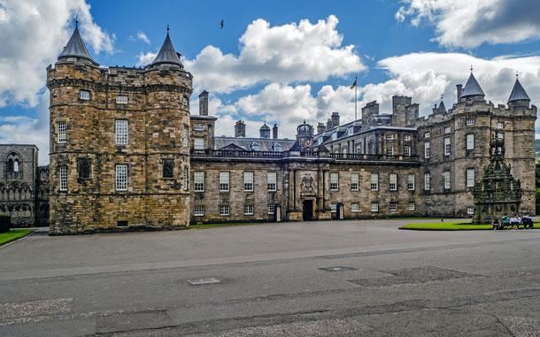 世界遺産「エディンバラの旧市街と新市街(イギリス)」、ホリールード宮殿