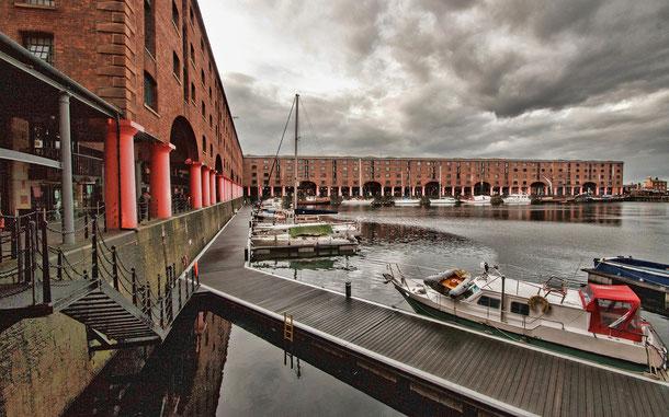 世界遺産「海商都市リヴァプール(イギリス)」のアルバート・ドック