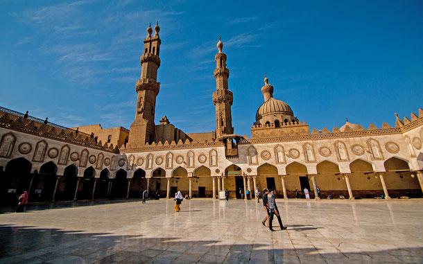 世界遺産「カイロ歴史地区(エジプト)」、アズハル・モスク