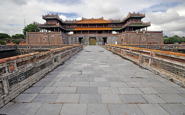 ベトナムの世界遺産「フエの建造物群」、王宮午門