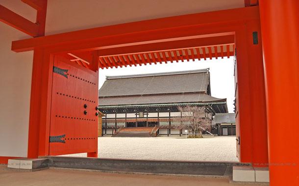 京都御所 承明門(世界遺産ではありません)