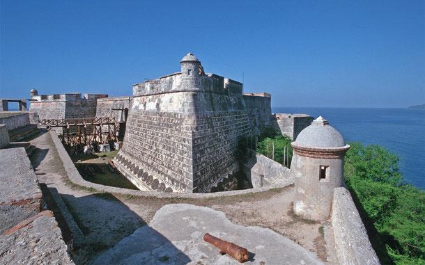 世界遺産「サンティアゴ・デ・キューバのサン・ペドロ・デ・ラ・ロカ城(キューバ)」