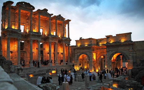 トルコの世界遺産「エフェソス」、セルシウス図書館