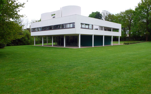 世界遺産「ル・コルビュジエの建築作品 - 近代建築運動への顕著な貢献(スイス/ドイツ/フランス/ベルギー/インド/日本/アルゼンチン共通)」、サヴォア邸