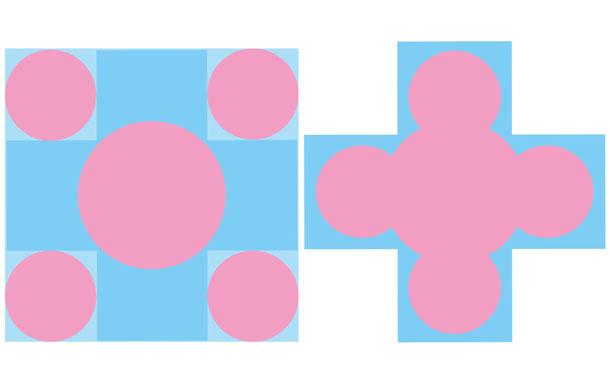 集中式・ギリシア十字形の平面プラン