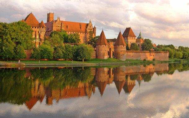 世界遺産名「マルボルクのドイツ騎士団の城(ポーランド)」、マルボルク城