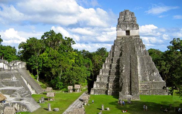 世界遺産「ティカル国立公園(グアテマラ)」、ティカルI号神殿(大ジャガー神殿)