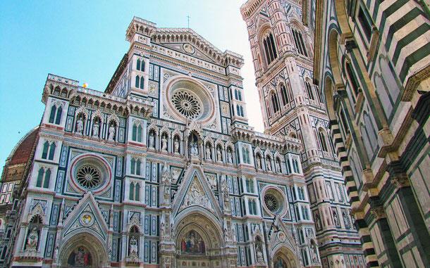 世界遺産「フィレンツェ歴史地区(イタリア)」、サンタ・マリア・デル・フィオーレ大聖堂