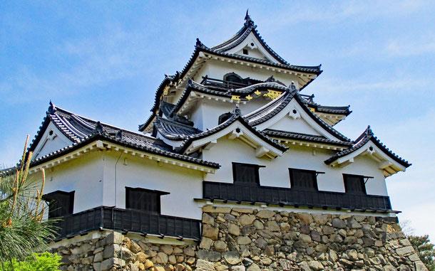 世界遺産暫定リスト記載物件「彦根城」の天守