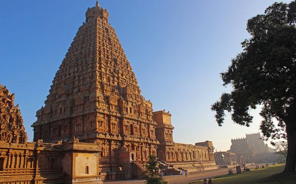世界遺産「大チョーラ朝寺院群(インド)」、ガンガイコンダチョーラプラムのブリハディーシュヴァラ寺院