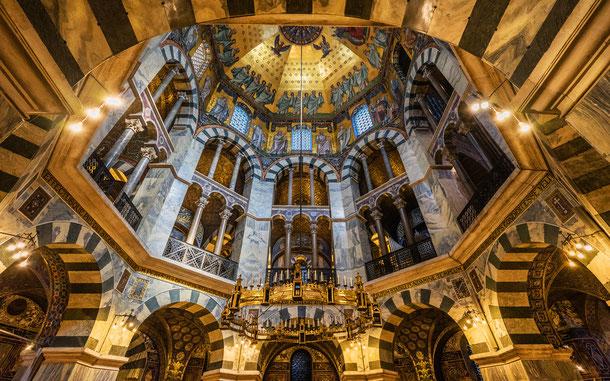 世界遺産「アーヘン大聖堂(ドイツ)」、宮廷礼拝堂・パラティン礼拝堂