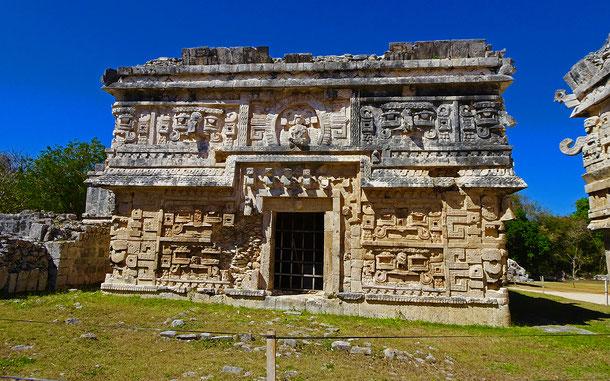 メキシコの世界遺産「古代都市チチェン・イッツァ」の尼僧院