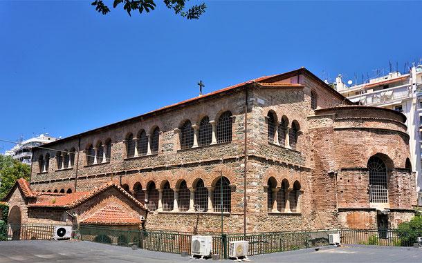 世界遺産「テッサロニキの初期キリスト教とビザンチン様式の建造物群(ギリシア)」、アヒロピイトス聖堂