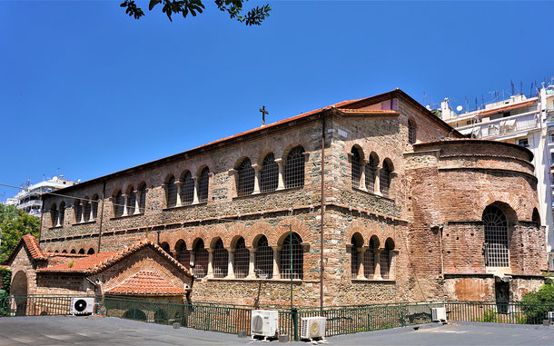 世界遺産「テッサロニキの初期キリスト教とビザンツ様式の建造物群(ギリシア)」、アヒロピイトス聖堂