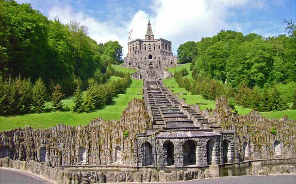 ドイツの世界遺産「ヴィルヘルムスヘーエ城公園」