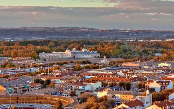 スペインの世界遺産「アランフェスの文化的景観」
