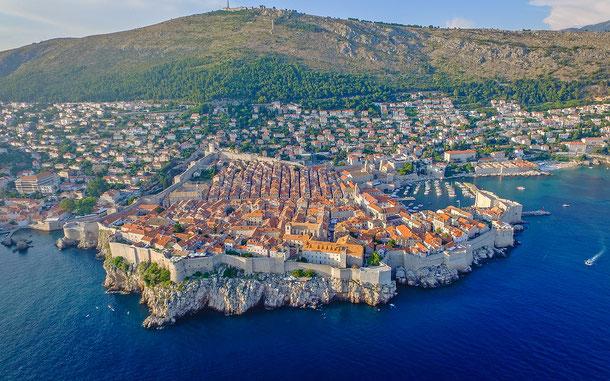 クロアチアの世界遺産「ドゥブロヴニク旧市街」