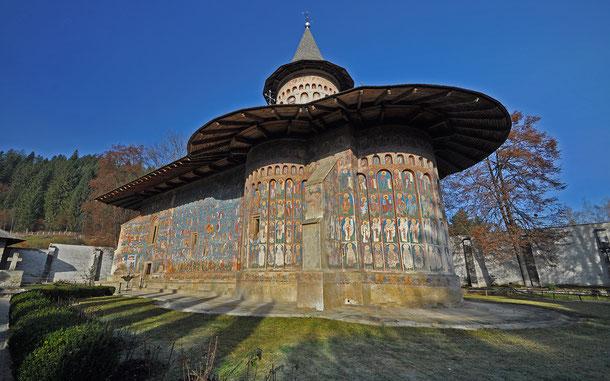 世界遺産「モルドヴィア地方の教会群(ルーマニア)」、ヴォロネツ修道院