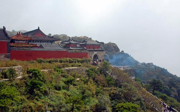 世界遺産「泰山(中国)」、玉皇頂