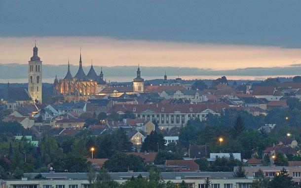 チェコの世界遺産「クトナー・ホラ:聖バルバラ教会とセドレツの聖母マリア大聖堂のある歴史都市」
