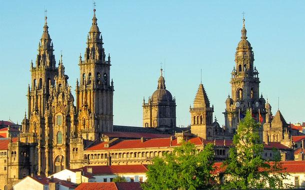世界遺産「サンティアゴ・デ・コンポステーラ[旧市街](スペイン)」、サンティアゴ・デ・コンポステーラ大聖堂