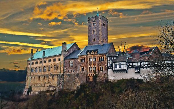 世界遺産「ヴァルトブルク城(ドイツ)」