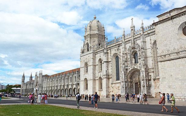世界遺産「リスボンのジェロニモス修道院とベレンの塔(スペイン)」、ジェロニモス修道院