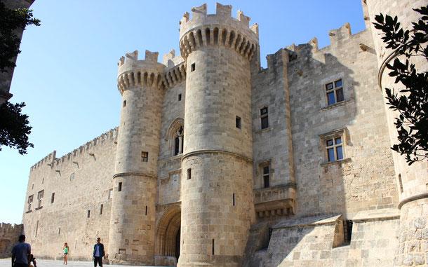 ギリシアの世界遺産「ロードス島の中世都市」、騎士団長の館
