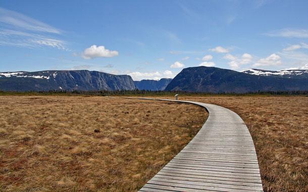 カナダの世界遺産「グロス・モーン国立公園」、西ブルックポンド