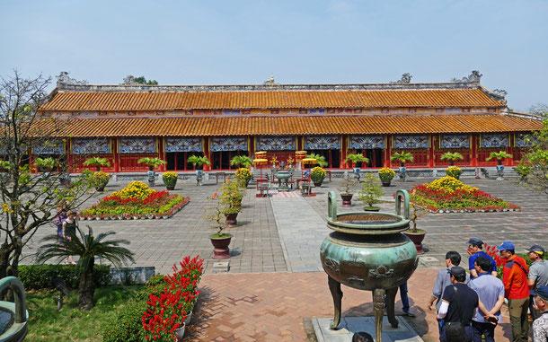 世界遺産「フエの建造物群(ベトナム)」、フエ王宮、世祖廟
