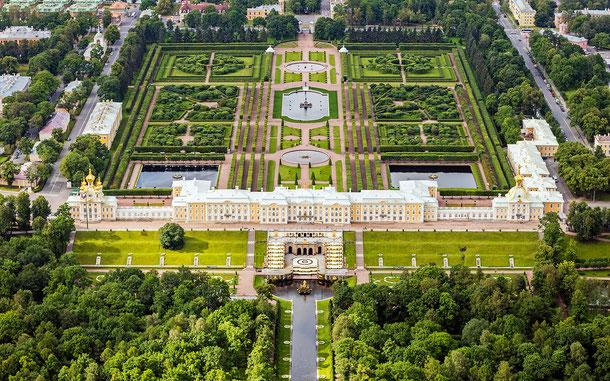 世界遺産「サンクトペテルブルク歴史地区と関連建造物群(ロシア)」、ペテルゴフ宮殿
