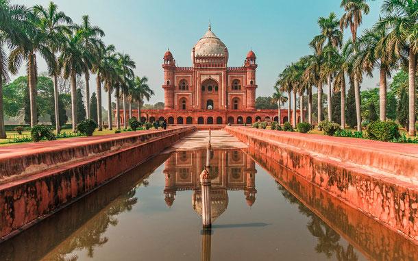 世界遺産「デリーのフマユーン廟(インド)」