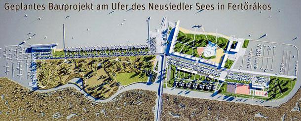 フェルテラーコシュで進められている港湾開発プロジェクト