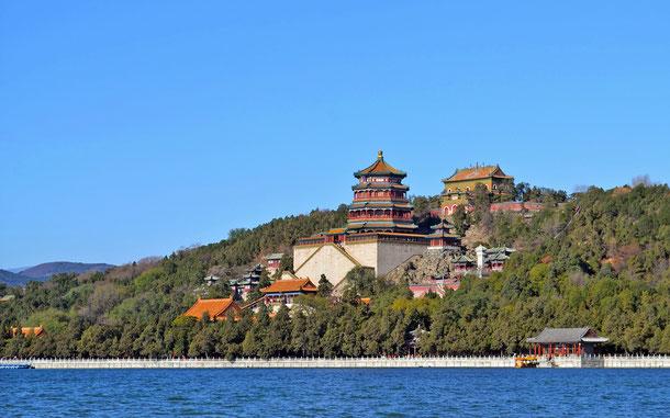 中国の世界遺産「頤和園:北京の皇帝の庭園」、仏香閣