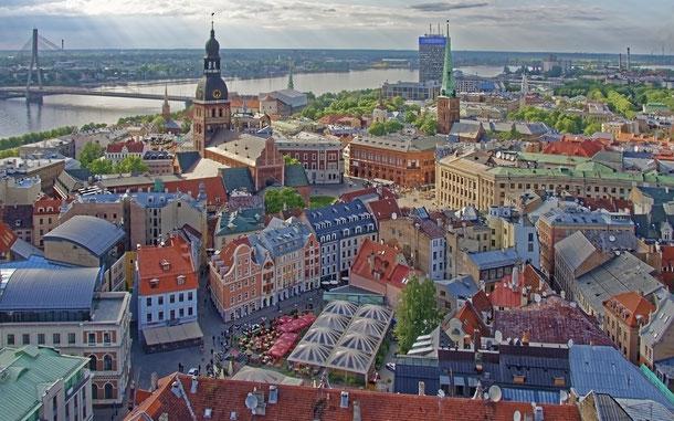 ラトビアの世界遺産「リガ歴史地区」