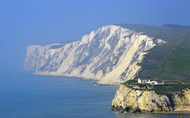 イギリスのワイト島