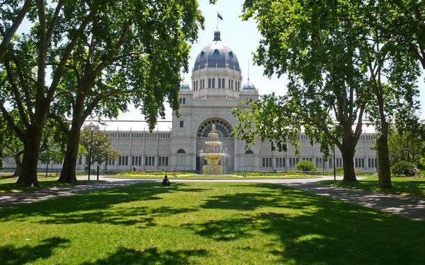 世界遺産「ロイヤル・エキシビジョン・ビルとカールトン庭園(オーストラリア)」、メインホール