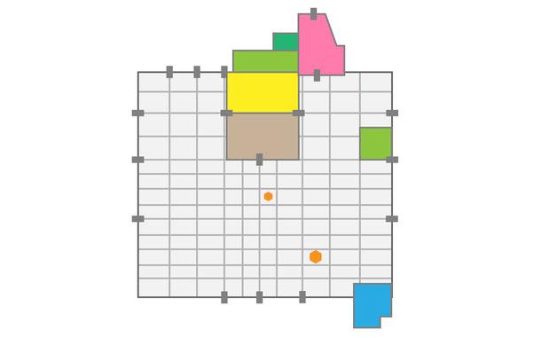 唐代・長安城の平面プラン