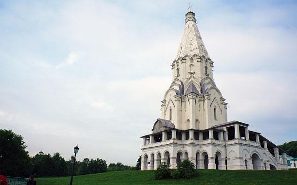 世界遺産「コローメンスコエの昇天教会(ロシア)」