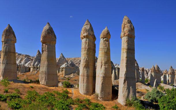 世界遺産「ギョレメ国立公園とカッパドキアの岩窟群(トルコ)」