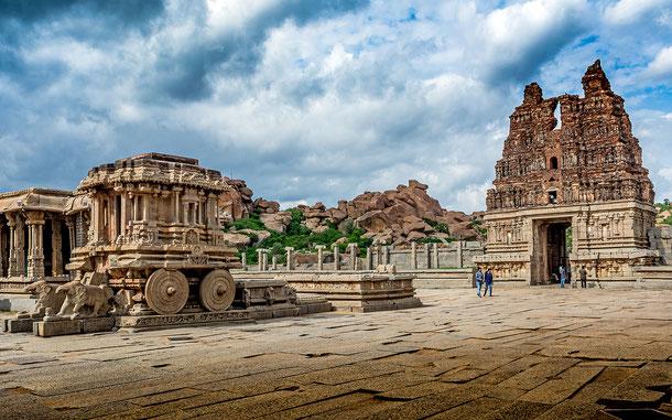 世界遺産「ハンピの建造物群(インド)」、ヴィッタラ寺院