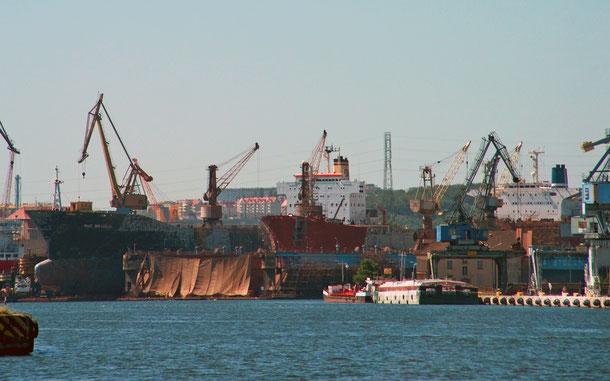 ポーランドの新世界遺産候補「グダニスク造船所-ヨーロッパにおける『連帯』誕生地であり鉄のカーテン崩壊の象徴」のグダニスク造船所