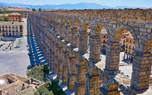 世界遺産「セゴビア旧市街とローマ水道橋(スペイン)」、セゴビアの水道橋