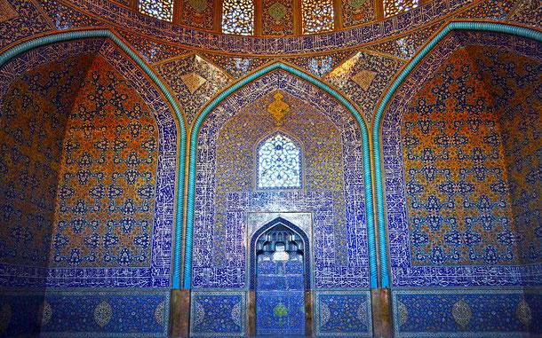 世界遺産「イスファハンのイマーム広場(イラン)」、シャイフ・ルトゥフッラー・モスク