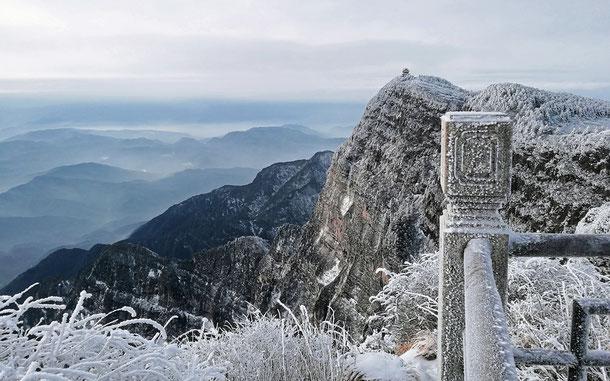世界遺産「峨眉山と楽山大仏(中国)」、峨眉山
