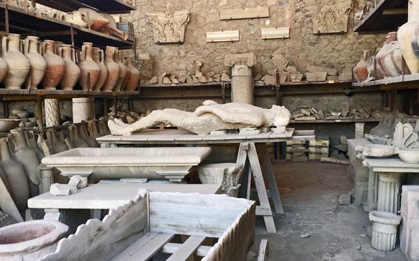 イタリアの世界遺産「ポンペイ、エルコラーノ及びトッレ・アヌンツィアータの遺跡地域」