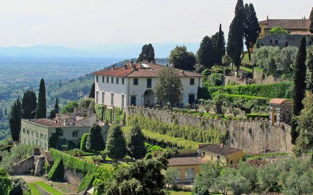 世界遺産「トスカーナ地方のメディチ家の別荘と庭園群(イタリア)」、ヴィッラ・メディチ・デ・フィエーゾレ