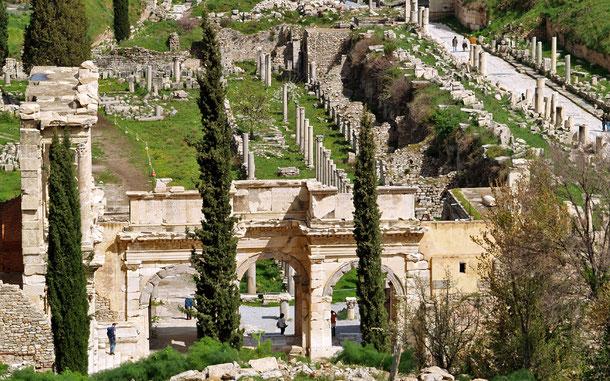 世界遺産「エフェソス(トルコ)」、セルシウス図書館跡